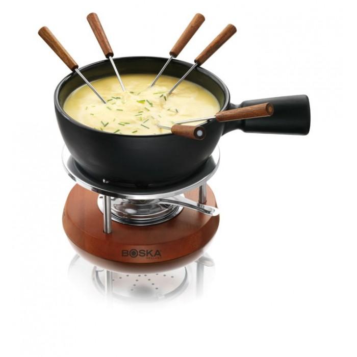 Stylen Cook Set Fondue en Fonte 9-pi/èces avec fourchettes